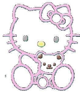 imagenes de kitty que se mueven 16 fotos que se mueven de hello kitty im 225 genes que se mueven