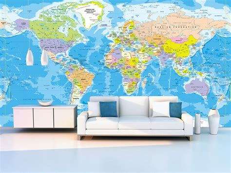 map wall murals world map wall mural 2017 grasscloth wallpaper