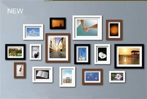 home decor picture frames photo wall frame set