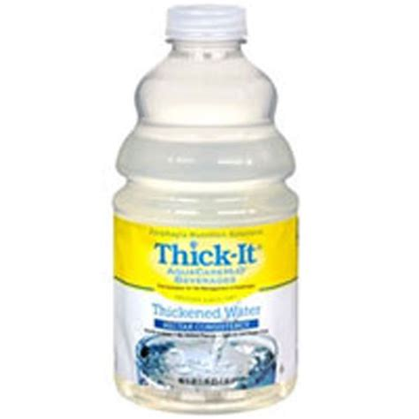 thick it aquacare thickened water nectar consistency 46 ebay
