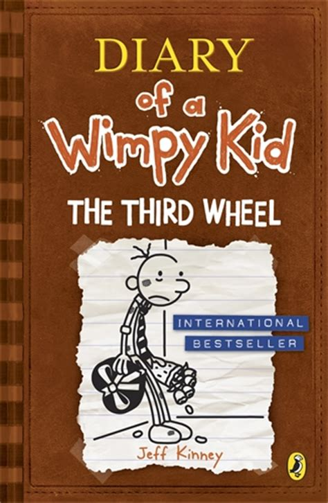 diary of a wimpy kid third wheel book report jeff kinney humanitas