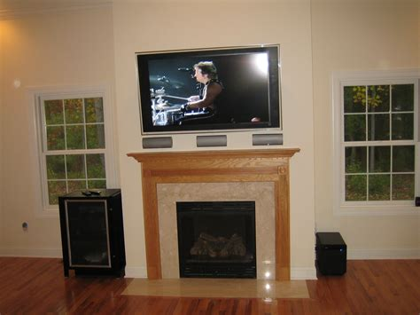 simsbury ct mount tv above fireplace home theater ct home theater installation and tv over fireplace home