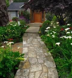 Garden Path Ideas Garden Path Garden Path Designs Pebble Path Concrete