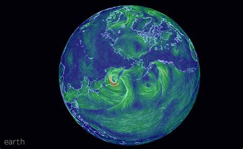 earth wind map amazing earth wind map bsak geography