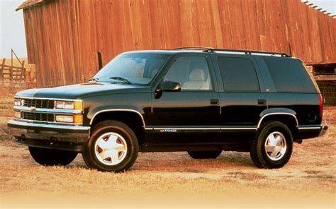 old car owners manuals 2008 gmc yukon interior lighting 1995 1999 chevrolet tahoe gmc yukon pre owned truck trend