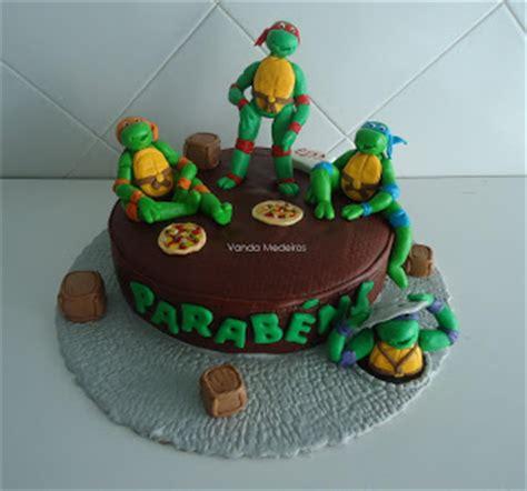 Töff Ninja by Love For Cake Bolo Tartarugas Ninja