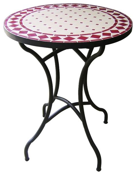 Ceramic Patio Table Dining Ceramic Mosaic Table Traditional Outdoor Dining Tables Other Metro By