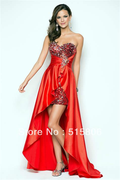 red cocktail red prom dresses under 200 pjbb gown