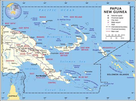 world map papua new guinea papua new guinea map map of papua new guinea papua new