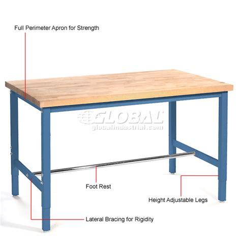 production work benches work bench systems adjustable height 72 quot w x 36 quot d