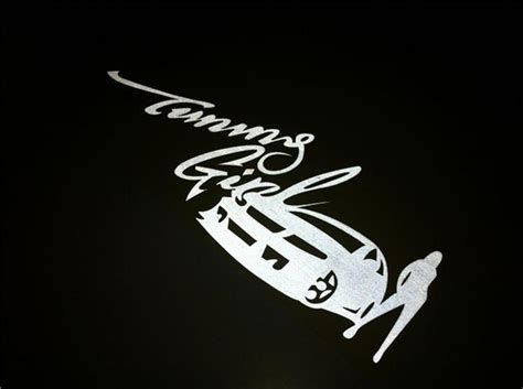 Tuning Girl Aufkleber by Tuning Girl Jdm Car Decal Sticker New Idea Stickers