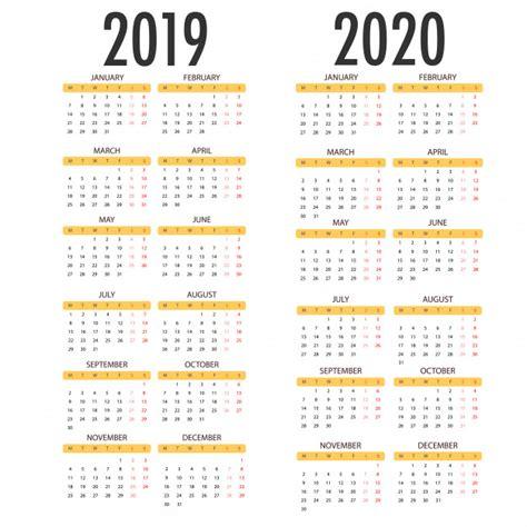 kalender voor   op witte achtergrond vector sjabloon vector premium