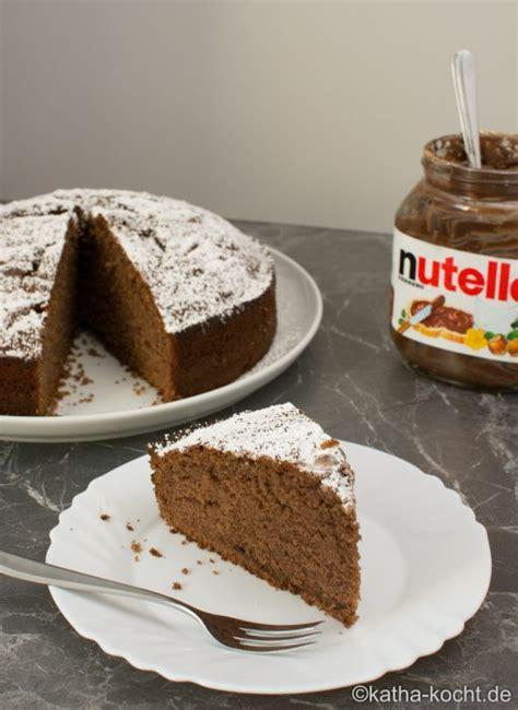 schneller nutella kuchen nutella kuchen katha kocht
