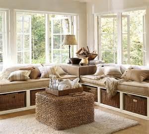Shabby Chic Round Coffee Table by Window Seats 7 Interiorish