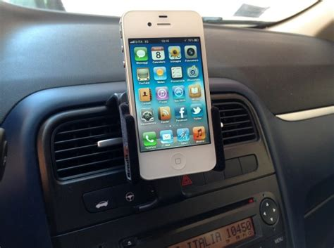 porta iphone per auto brodit il supporto per iphone da auto configurabile