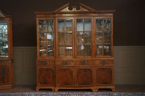 Mahogany China Cabinet by Mahogany China Cabinet Or Breakfront With Mahogany