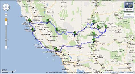 map usa road trip route road trip usa 2010