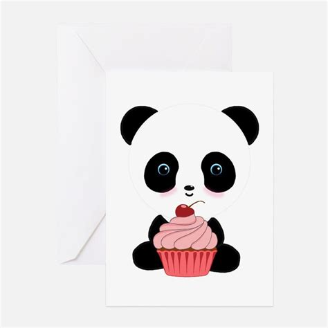 Panda Birthday Card Template by Panda Greeting Cards Card Ideas Sayings Designs