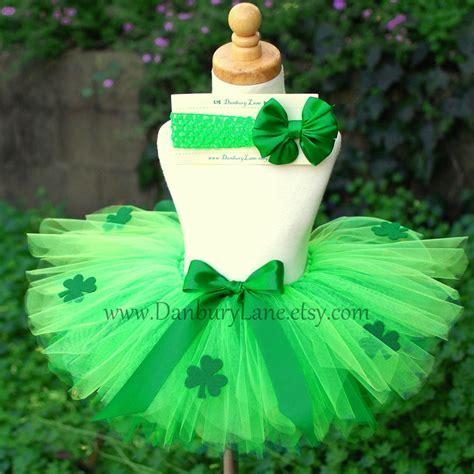 St Tutu green toddler tutu only st patricks day costume for