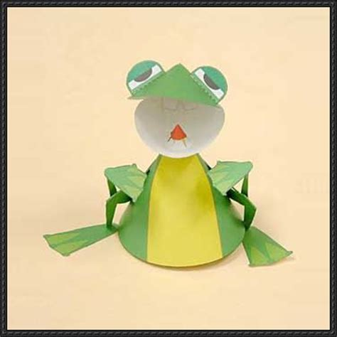 Papercraft Frog - papercraftsquare new paper craft paper crafts for