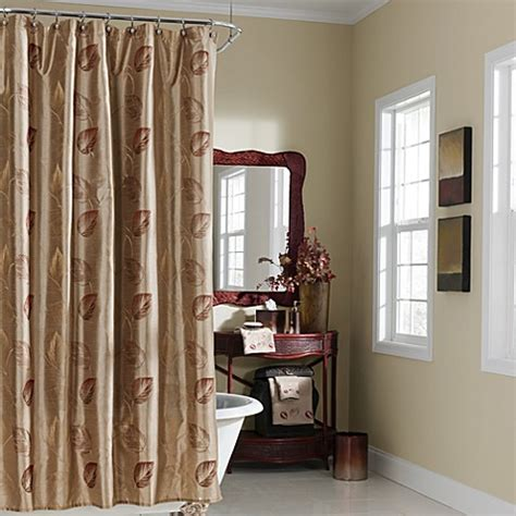 cranberry shower curtain croscill arbor leaves cranberry shower curtain bed bath