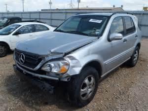 Mercedes 2002 Ml320 4jgab54e42a363900 Bidding Ended On 2002 Silver Mercedes