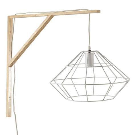 Origami Metal - origami metal wall light in white h 50cm maisons du monde