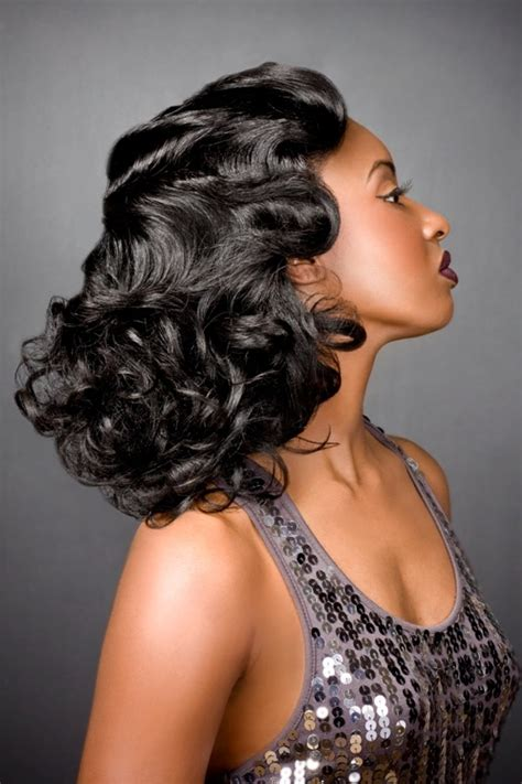 How To Do 1920 Hairstyles by How To Do 1920 Hairstyle Finger Waves