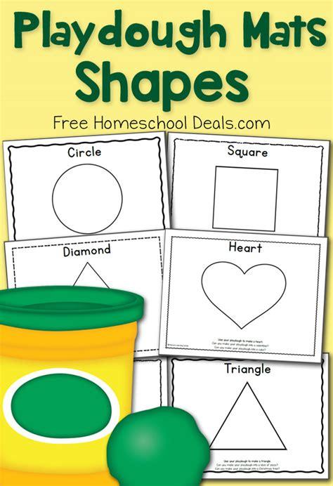 printable playdough math mats free shapes play dough mats instant download prompts