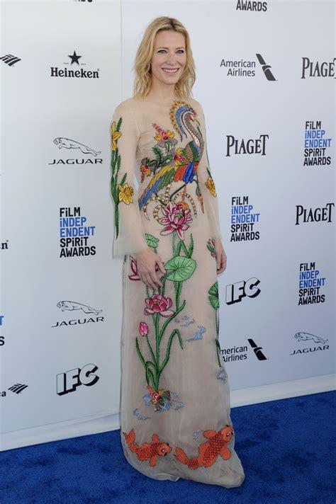 Independent Spirit Awards Cate Blanchett by Cate Blanchett At 2016 Independent Spirit Awards In
