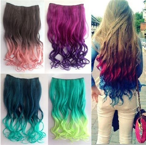 colored extensions ombre clip hair extensions for are aweseome gifts