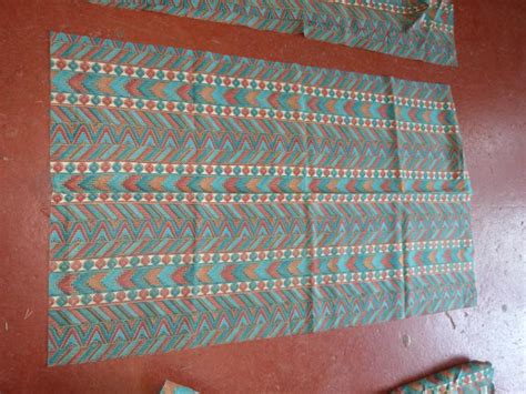 cervan curtain material set of caravan curtains 10 pieces other at national