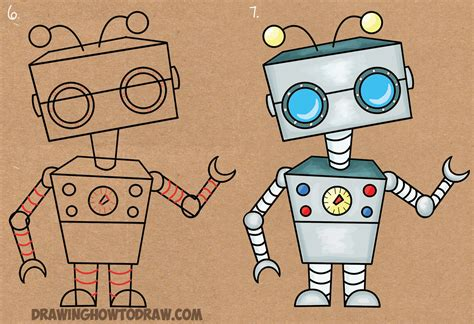 Drawing Robot by Robot Drawing Www Pixshark Images Galleries