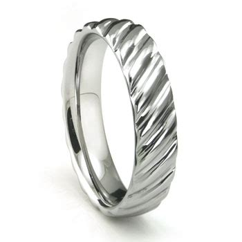 Wedding Rings Rope Design by Tungsten Carbide Rope Design Wedding Band Ring