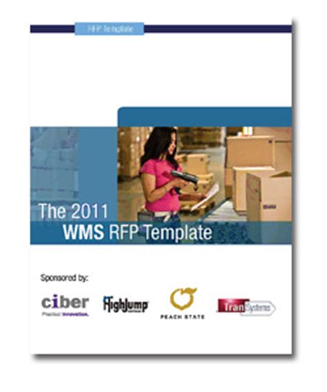 28 3pl rfp template photo resources lean logistics and
