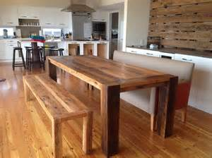 Wooden Kitchen Table With Bench Wooden Bench And Table Wooden Bench Table Image Home Decor Gallery What Home Design Bench Style