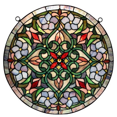 stained glass decorations warehouse of hf213 hanging window panel