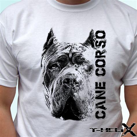 design a shirt for dog cane corso dog new white t shirt design art mens womens