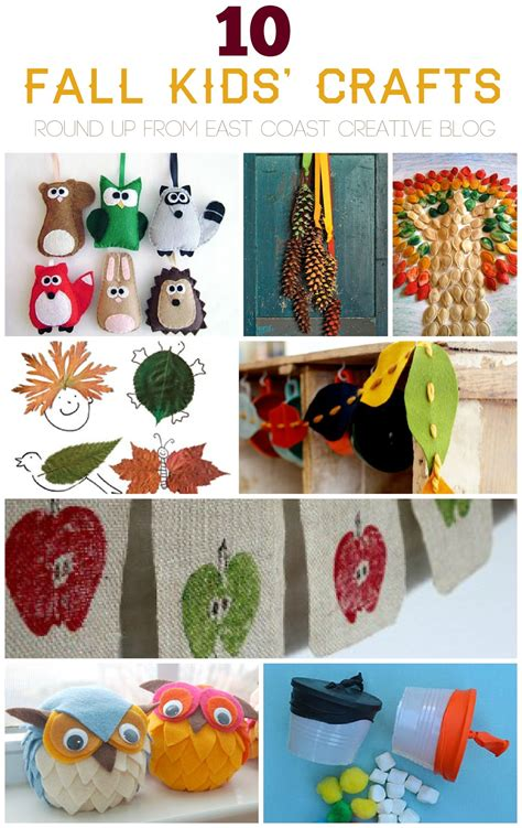 fall kid crafts fall children crafts