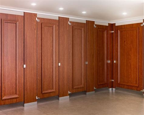 wood bathroom stalls 10 best images about molding toilet partitions on