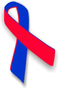 Image result for red and blue ribbon logo