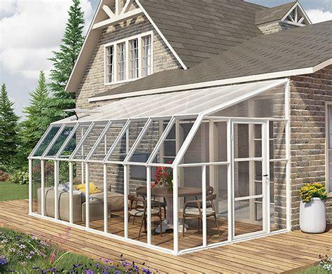 Lean To Sunroom Kits lean to sunroom kit 171 greenwall solutions inc