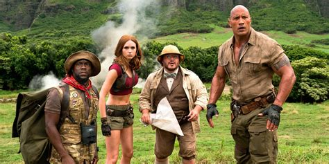 film jumanji welcome to the jungle jumanji welcome to the jungle trailer preview screen rant
