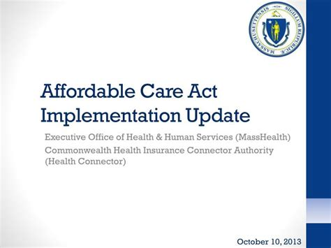 the affordable care act ppt download ppt affordable care act implementation update powerpoint