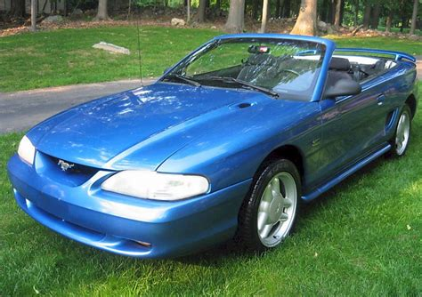 94 mustang gt horsepower 1994 mustang gt convertible specs