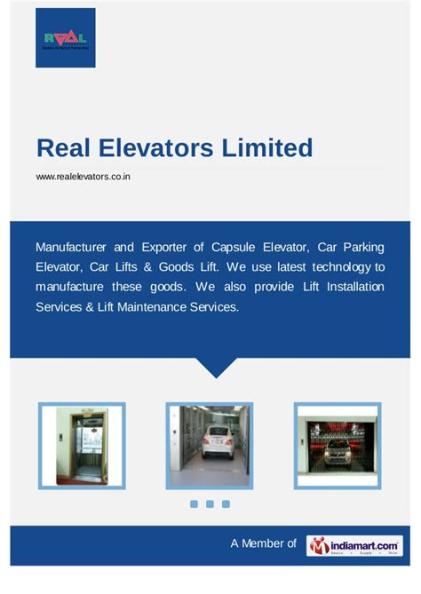 Daster Lowo New Delhi Limited 1 real elevators limited new delhi freights lifts