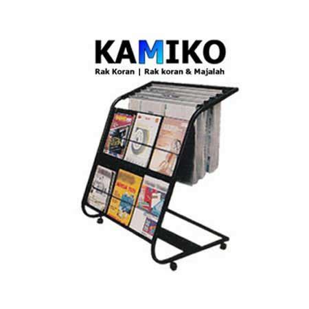 Rak Koran rak koran dan majalah kamiko 611 bursafurnitur toko office furnitur home