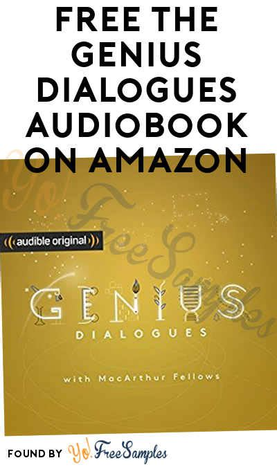 free the genius dialogues audiobook on yo free sles