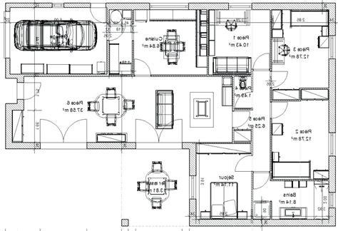 Plan Maison 120m2 Plain Pied 4349 plan maison 120m2 plain pied plan maison plein pied