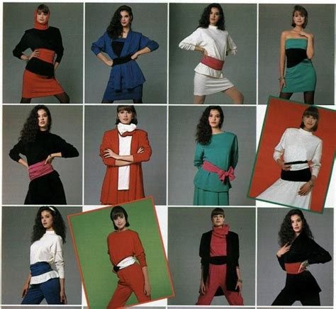 19 Looks From 80 S Are Back Fashion Trend by 19 Best 1980s S Fashion Images On